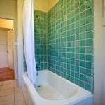 Tiled Shower & Tub